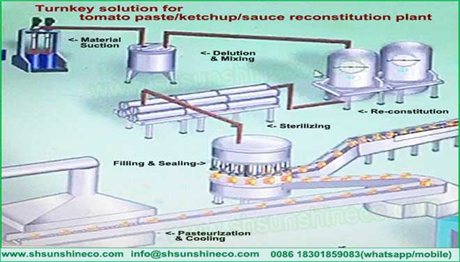 Reconstitution Food Production Process